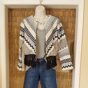 Boho-chic Abercrombie & Fitch blazer